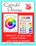 Color Wheel, Tints and Shades - Elements of Art: Color