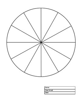 Color Wheel & Value Scale Project/Template