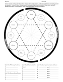 Color Wheel Worksheet 1