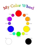 Color Wheel Worksheet and Guide