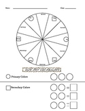 Color Wheel Worksheets
