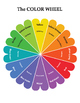 Color Wheel and Color Mixing Charts.