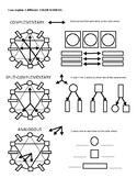 Color Wheel and Color Schemes worksheet
