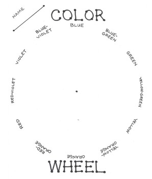Color Wheel and Metaphor Poem