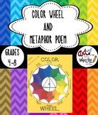Color Wheel Art and Metaphor Poem