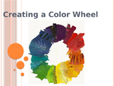 Color Wheel and Painting Procedures