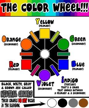Color Wheel (no glassy effect)