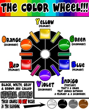 Color Wheel (with glassy effects)