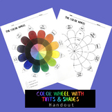 Color Wheel - with tints and shades