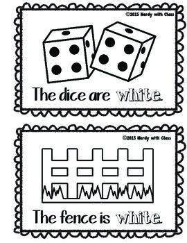 Color White Book
