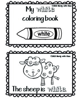 Color White Book
