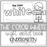 Color White Emergent Reader