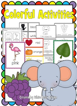 Colorful Activities! {Color Words}