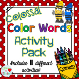 Mega Bundle of Color Word Work Centers
