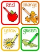 Color Words Activity {Color Word Mini Reader} {11 Display Cards} {Common Core}