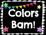 Color Word BAM!