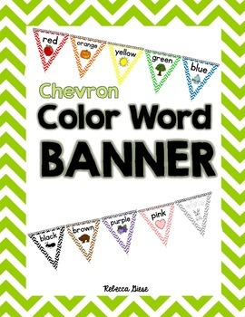 Color Word Banner