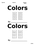 Color Word Book