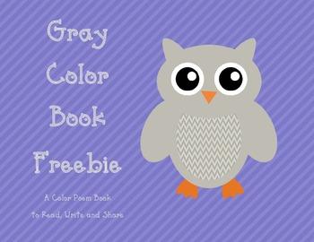 Color Word Book Freebie