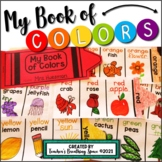 """Color Word Book --- """"My Book of Colors"""" Shape Book"""