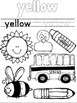 Color Word Booklet