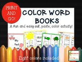 Emergent Readers-Color Word Books