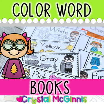 Color Word Books for Guided Reading (Predictable Text for