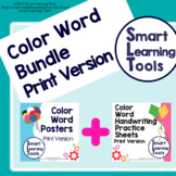 Color Word Bundle - Print Version