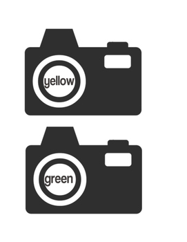 Color Word Camera