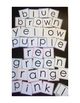 Color Word Cards {Spell the 10 basic colors}