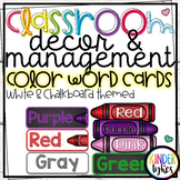 Color Word Cards by Kinder Tykes