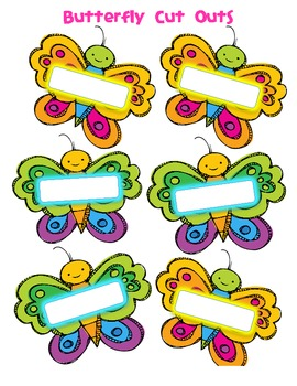 Color Word Caterpillars
