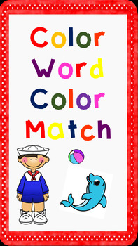 Color Word Color Match