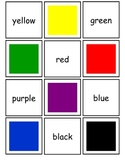 Color Word Concentration Game
