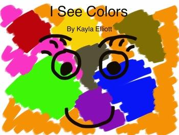 Color Word Easy Reader