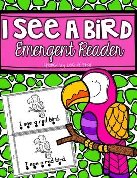 Color Word Emergent Reader