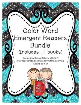 Color Word Emergent Readers Bundle