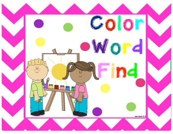Color Word Find