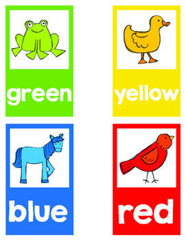how to teach colours in kindergarten