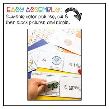 Color Word Flip-Books