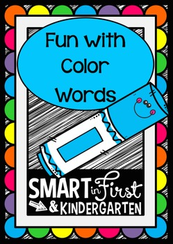 Color Word Fun Activity Packet