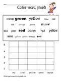 Color Word Graph