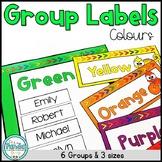Color Theme Group Labels