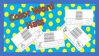Color Word Hats