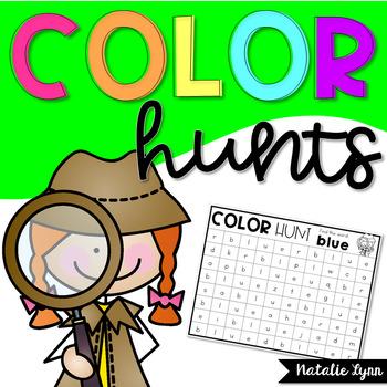 Color Word Hunts