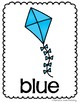 Color Word Kite Posters