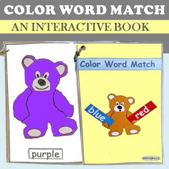 Color Word Matching Teddies