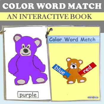 Color Word Matching Teddies