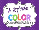 Color Word Mini Books with QR Codes {Green Mini Book FREEBIE}