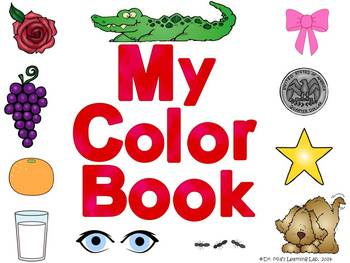 My Color Word Book (a book that introduces or reviews all color words)